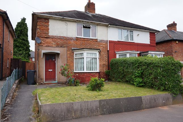 Thumbnail Semi-detached house for sale in Hornsey Road, Kingstanding, Birmingham