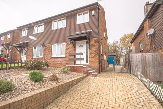 Thumbnail Semi-detached house to rent in Larch Close, New Inn, Pontypool