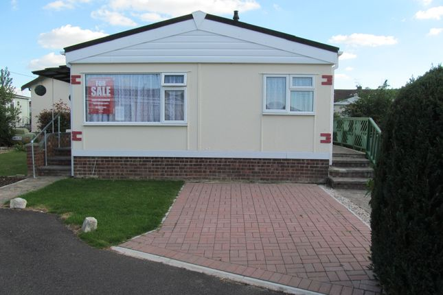 Thumbnail Mobile/park home for sale in Williams Green, Tower Park, Hullbridge, Hockley, Essex