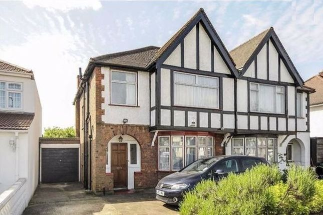 Thumbnail Semi-detached house to rent in Holmstall Avenue, Edgware