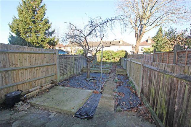 Garden of Jarvis Road, South Croydon CR2