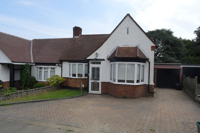 Thumbnail Semi-detached bungalow to rent in High Beeches, Chelsfield, Orpington