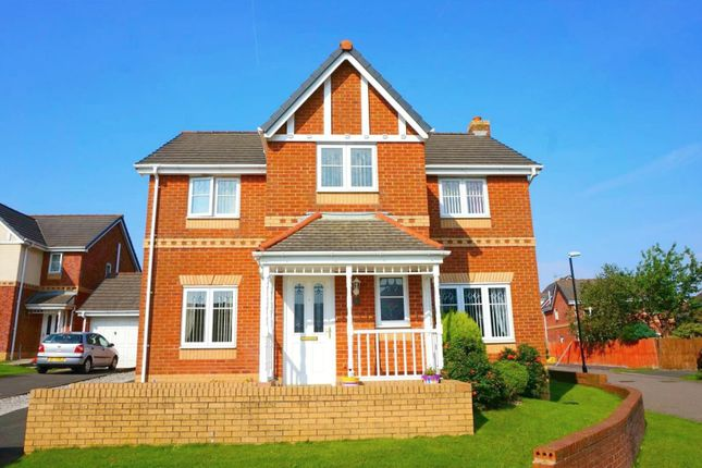 Thumbnail Detached house for sale in Swift Gardens, Heysham, Morecambe