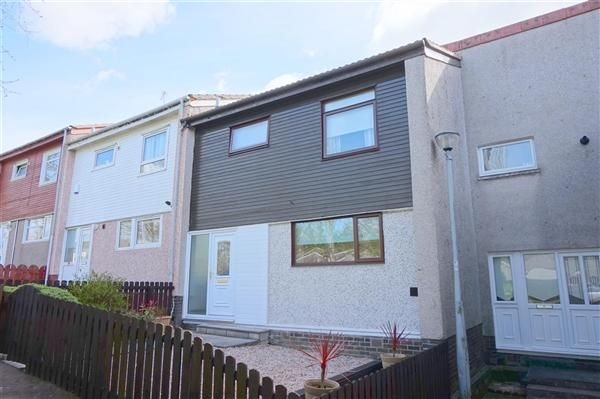 Thumbnail Terraced house to rent in Troon Avenue, East Kilbride