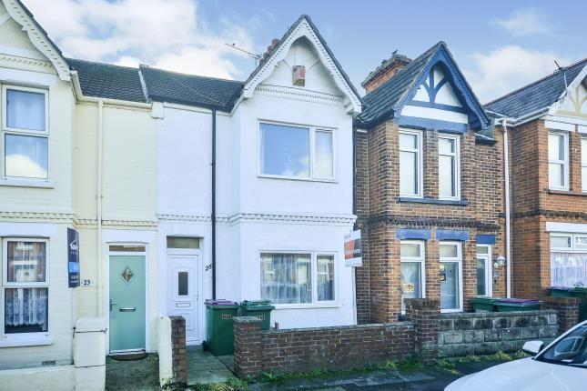 Thumbnail Terraced house for sale in Oaks Road, Folkestone, Kent