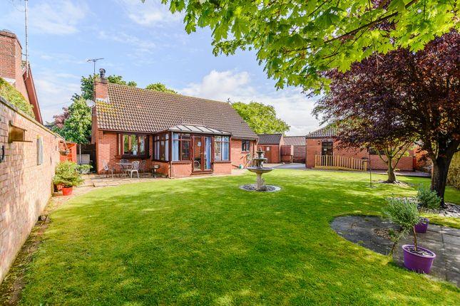 Thumbnail Detached bungalow for sale in Winteringham Lane, West Halton, Scunthorpe