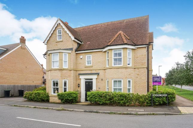 Thumbnail Detached house for sale in Devon Drive, Biggleswade