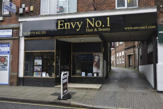 Thumbnail Retail premises for sale in High Street, Alfreton, Derbyshire