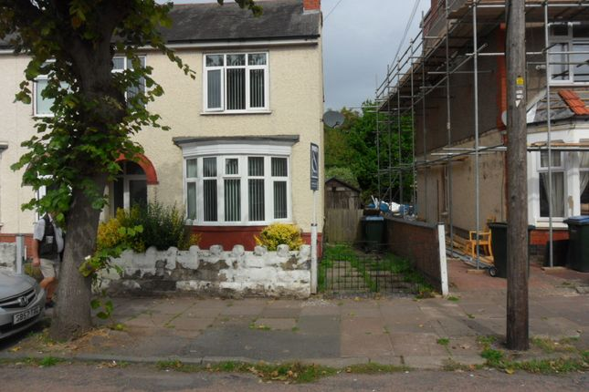 Thumbnail End terrace house to rent in Biggin Hill Crescent, Stoke