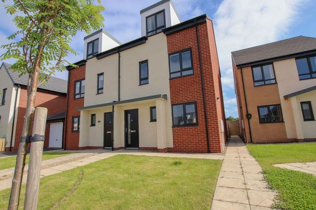 Thumbnail Semi-detached house for sale in Goldrill Gardens, Redcar