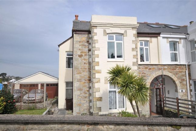 Thumbnail Semi-detached house for sale in Daniell Road, Truro