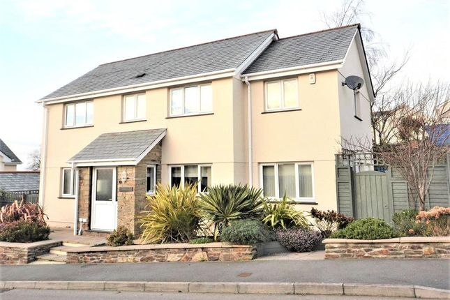 Thumbnail Detached house for sale in Skitta Close, Callington, Cornwall