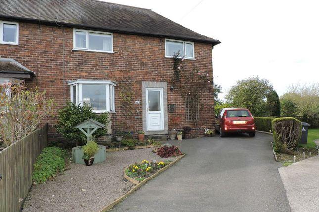 Thumbnail Semi-detached house for sale in Park Street, Wessington, Alfreton, Derbyshire