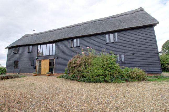 5 bed link-detached house for sale in High Street, Coddenham, Ipswich IP6