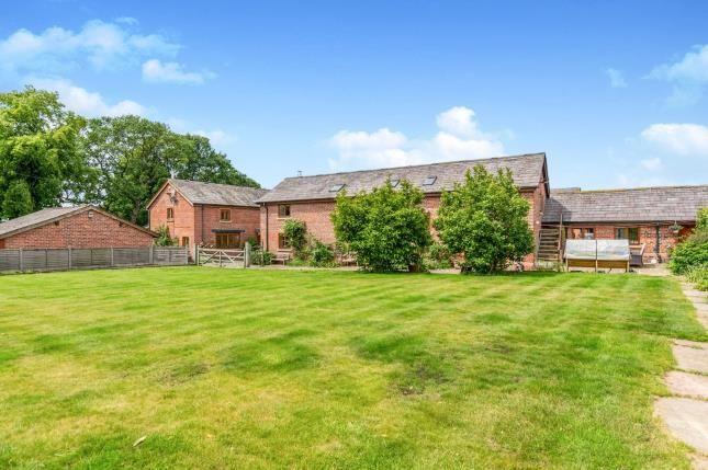 Thumbnail Barn conversion for sale in Porch House Farm, Runcorn Road, Warrington, Cheshire