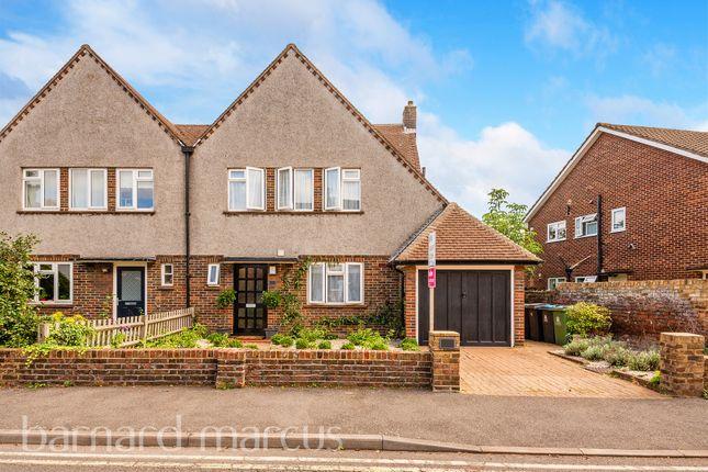 Semi-detached house for sale in Poplar Grove, New Malden