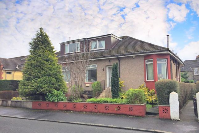 Thumbnail Semi-detached bungalow for sale in Edward Street, Whitecrook, Clydebank, West Dunbartonshire