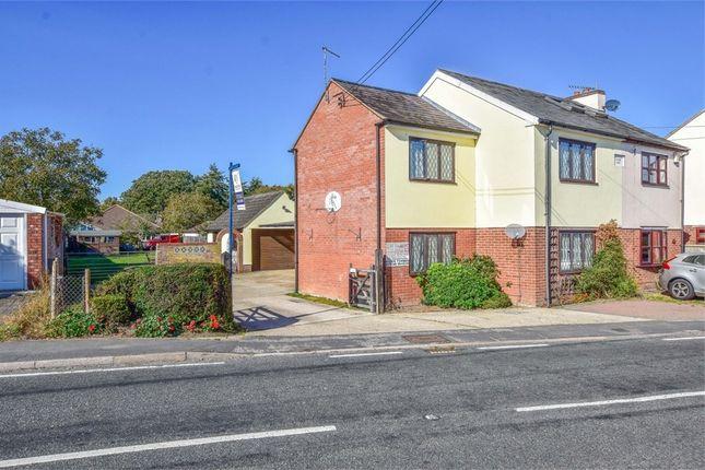Thumbnail Semi-detached house for sale in High Road, Layer-De-La-Haye, Colchester, Essex