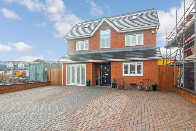 Thumbnail Detached house for sale in Clos Trehelyg, Ebbw Vale