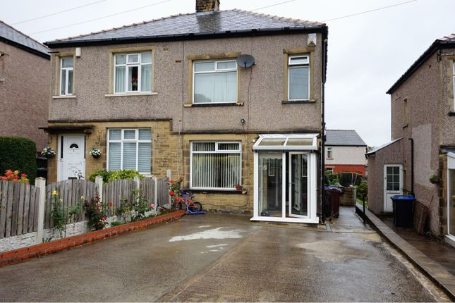 Thumbnail Semi-detached house for sale in Thoresby Grove, Bradford