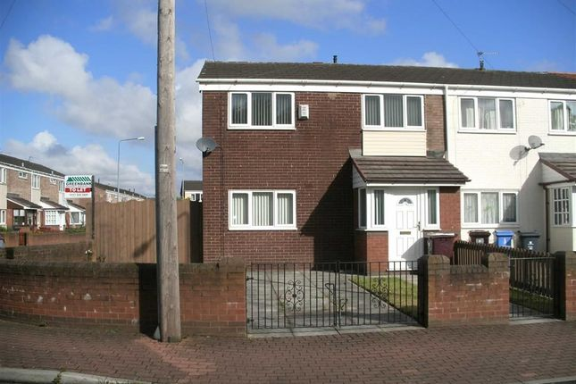 Thumbnail Town house to rent in Crofters Lane, Kirkby, Liverpool
