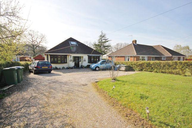 Thumbnail Detached bungalow for sale in Botley Road, Burridge, Southampton