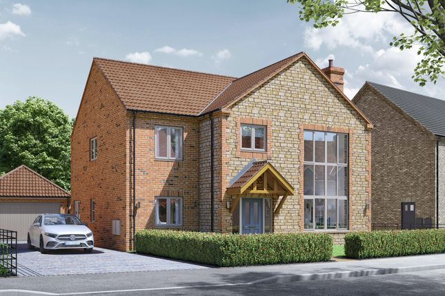 Thumbnail Detached house for sale in Crickets Drive, Lincoln