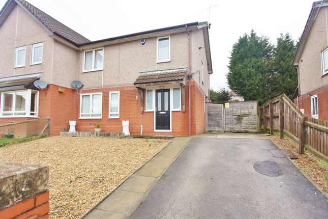 Thumbnail Semi-detached house for sale in Redwood Close, Hoyland, Barnsley