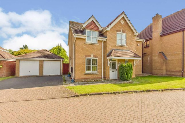 Thumbnail Detached house for sale in Langford Gardens, Grantham