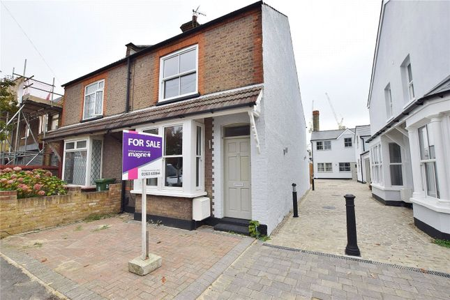 Thumbnail Semi-detached house for sale in Nascot Street, Nascot Wood, Hertfordshire