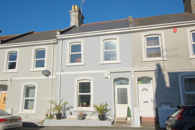 Thumbnail Terraced house for sale in Hotham Place, Stoke, Plymouth