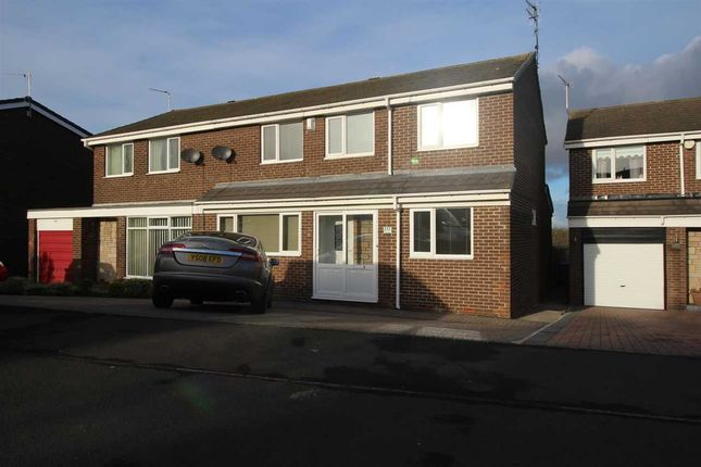 Semi-detached house for sale in Newlyn Drive, Parkside Dale, Cramlington