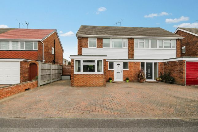 Thumbnail Semi-detached house for sale in Ozonia Avenue, Wickford