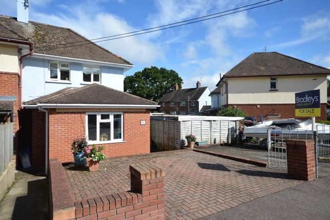 Thumbnail End terrace house for sale in Brimley Vale, Bovey Tracey, Newton Abbot, Devon