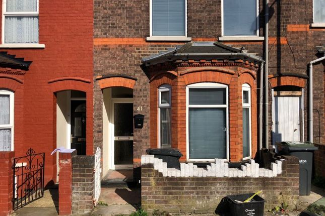 Thumbnail Terraced house to rent in Belmont Road, Luton