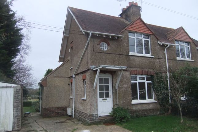 Thumbnail Semi-detached house to rent in North Street, Hellingly, Hailsham