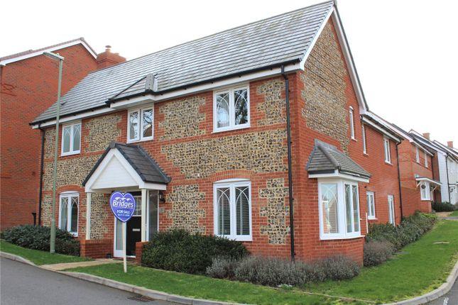 Thumbnail Detached house for sale in Poulter Place, Church Crookham, Fleet, Hampshire
