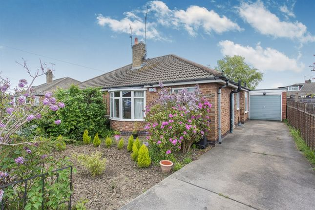 Thumbnail Semi-detached bungalow for sale in Orchard Gardens, Huntington, York