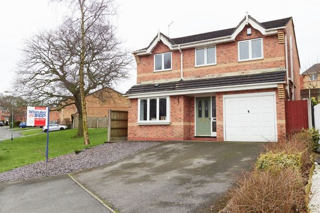 Thumbnail Detached house for sale in Mossfield Drive, Biddulph, Staffordshire