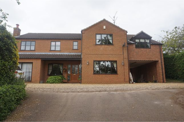 Thumbnail Detached house for sale in Wormegay Road, King's Lynn