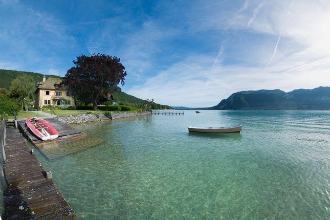 Thumbnail Detached house for sale in Lake Annecy West Bank, Sévrier, Seynod, Annecy, Haute-Savoie, Rhône-Alpes, France