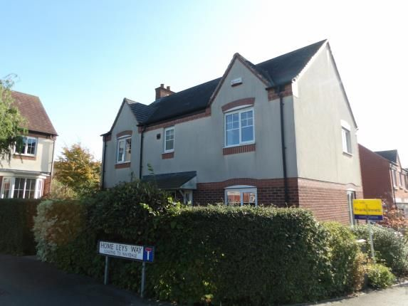 Thumbnail Detached house for sale in Home Leys Way, Wymeswold, Loughborough, Leicestershire