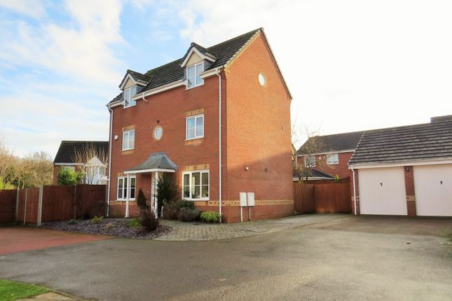 Thumbnail Detached house for sale in Buttercup Way, Bedworth