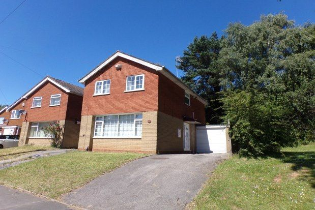 3 bed detached house to rent in Wentworth Way, Birmingham B32
