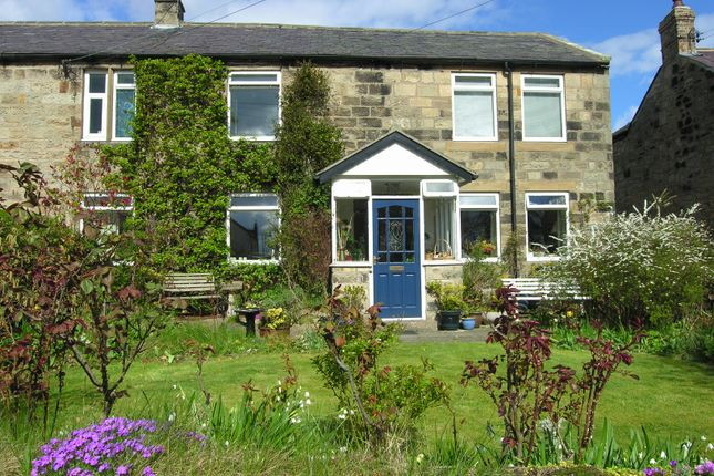 Thumbnail Semi-detached house for sale in Longframlington, Morpeth, Northumberland