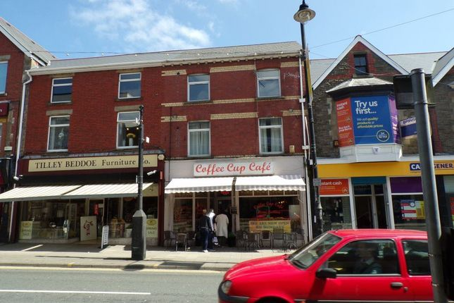Thumbnail Flat to rent in High Street, Blackwood