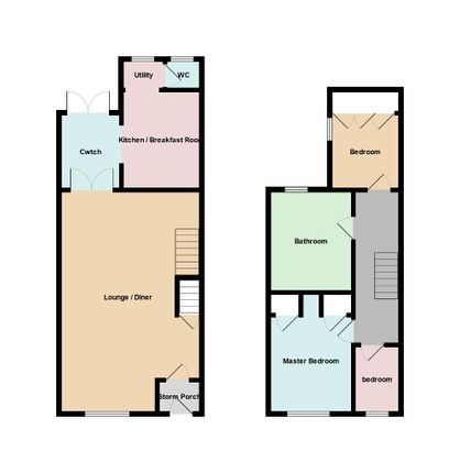 Thumbnail Terraced house for sale in Greenfield Place, Blaenavon, Pontypool, Gwent