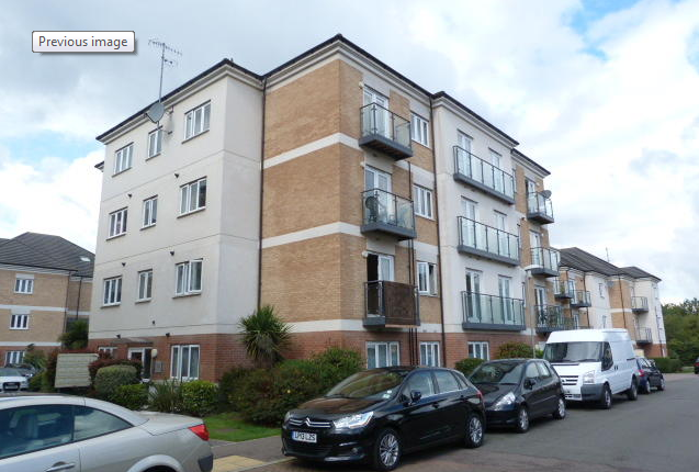 Thumbnail Flat to rent in Cezanne Road, Watford