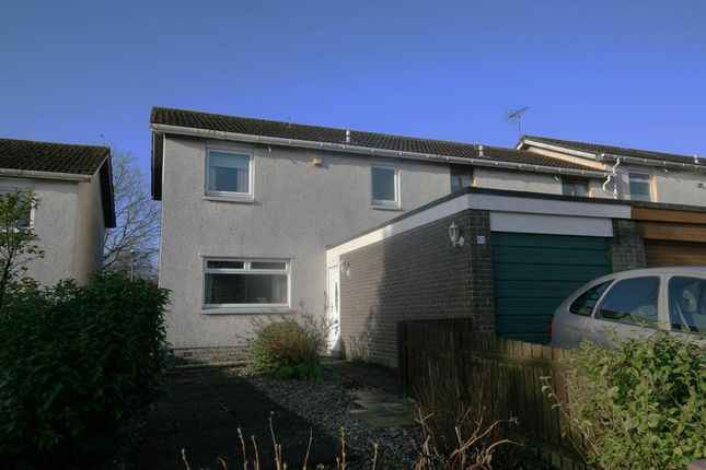 Thumbnail End terrace house for sale in Camps Rigg, Livingston