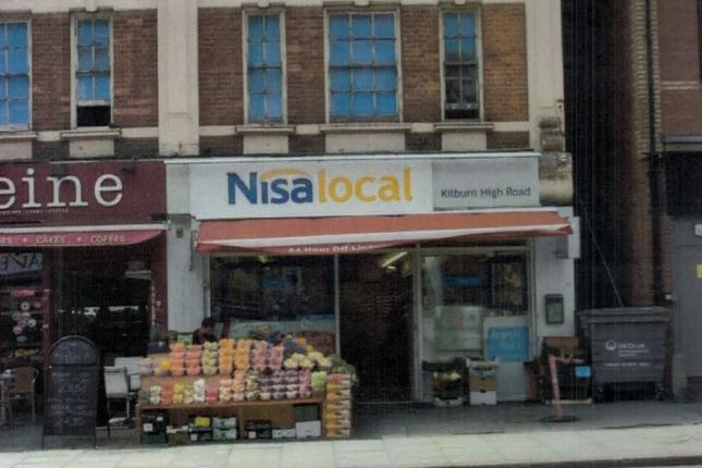 Thumbnail Retail premises for sale in Kilburn High Street, Kilburn, London